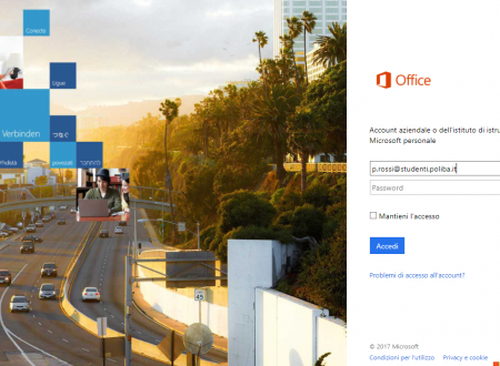 Mail studentesca e servizi Microsoft